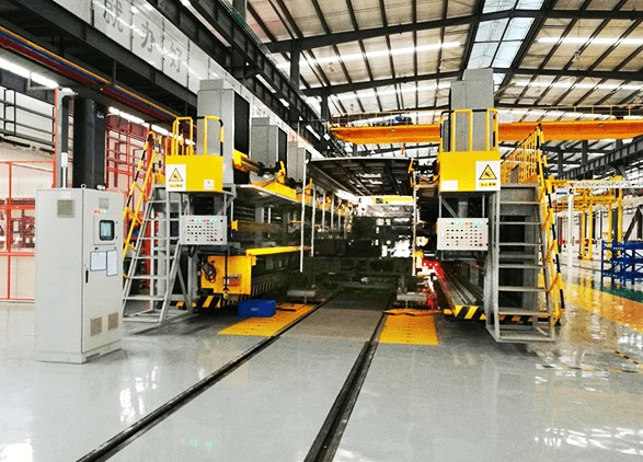 CNC Bus Assembly Equipment for Bus Frame