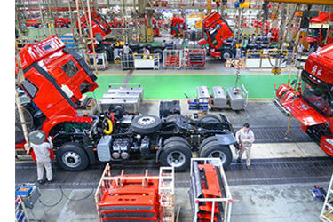 Commercial Vehicle Production Line