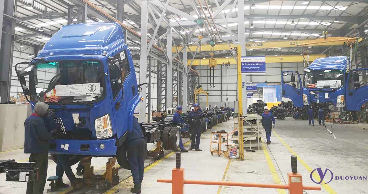 Truck Production Line From Duoyuan