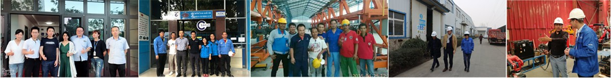 Customers visiting of Duoyuan equipment
