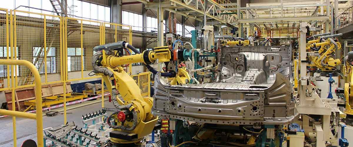 Car production line of duoyuan company