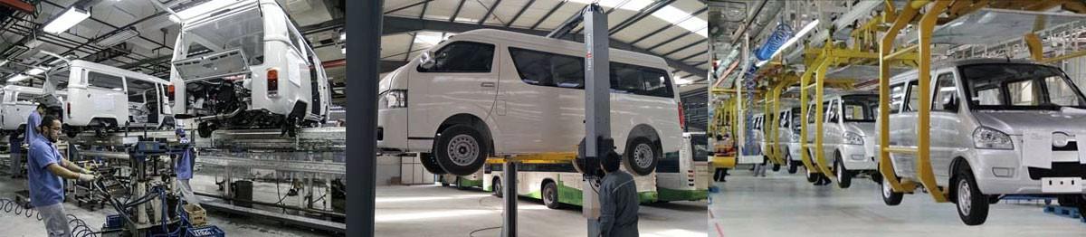 Cargo Van assembly line of DUOYUAN equipment