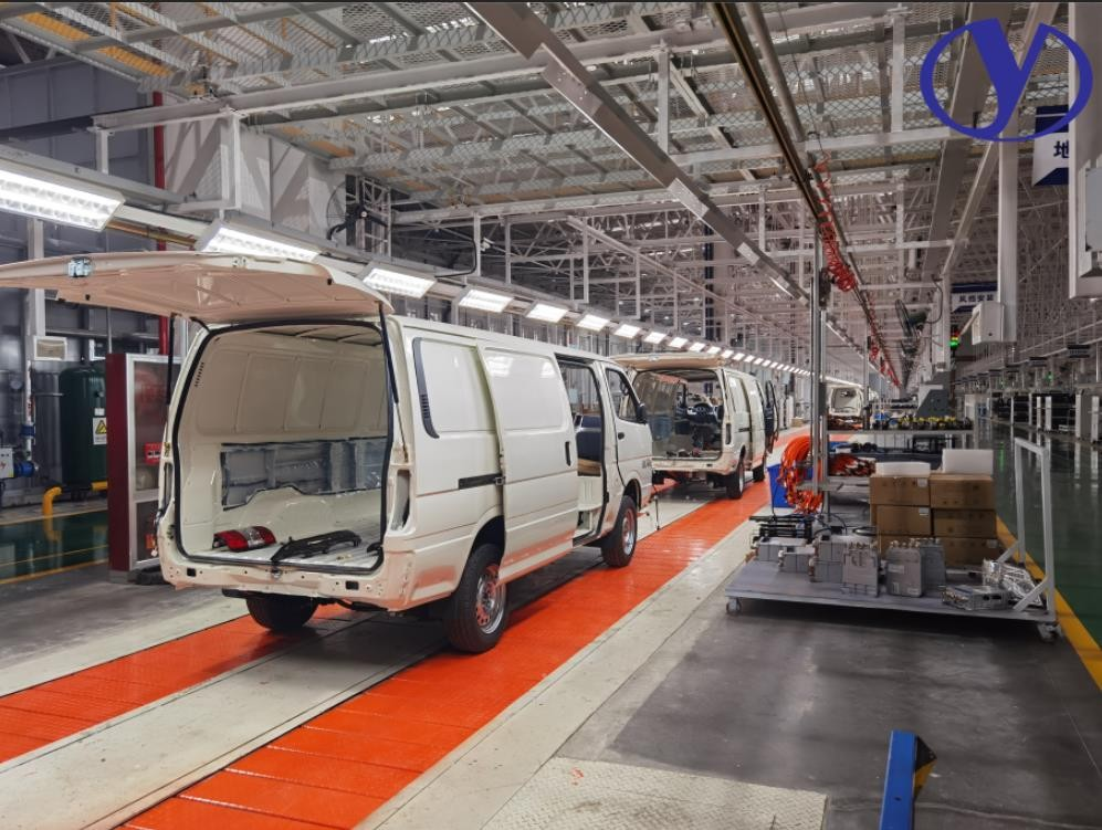vehicle assembly line production line machines