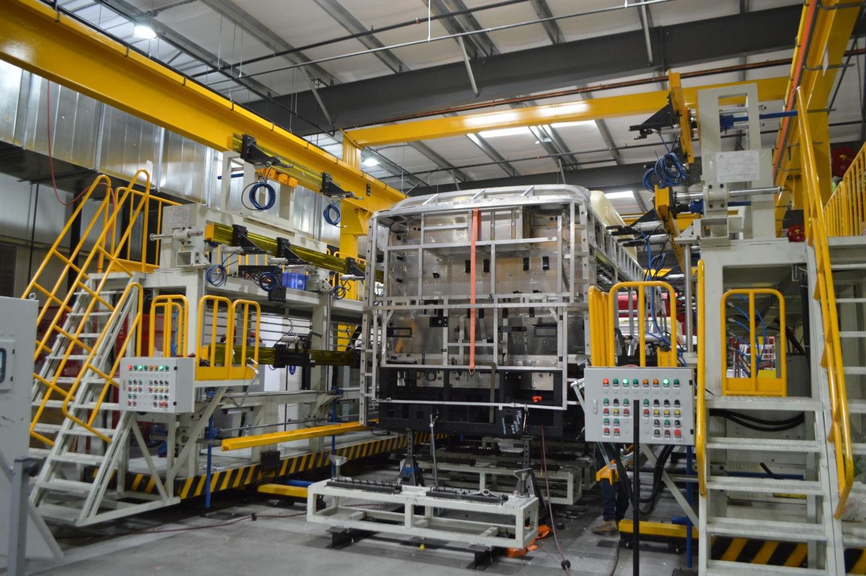 bus assembly line automotive production line